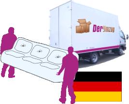 Umzug nach Deutschland